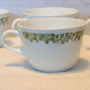 Corelle Spring blossom Crazy Daisy Coffee Cups